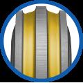 Multi Rill Tyre