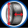 V64+ Farm Tyre